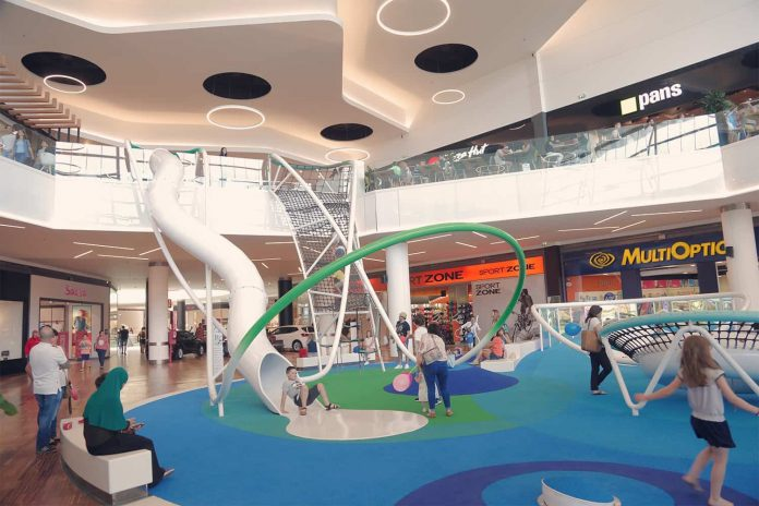 Playground In a Shopping Mall