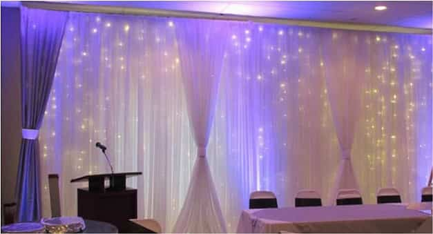 Special Events decorative curtain lights
