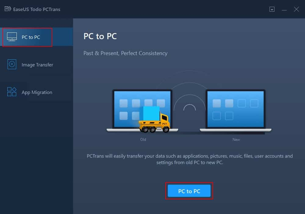 How To Transfer PC To PC File with Software 1
