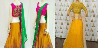 Online Indian Designer Lehenga Choli Set