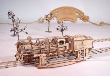 mechanical wooden model kits