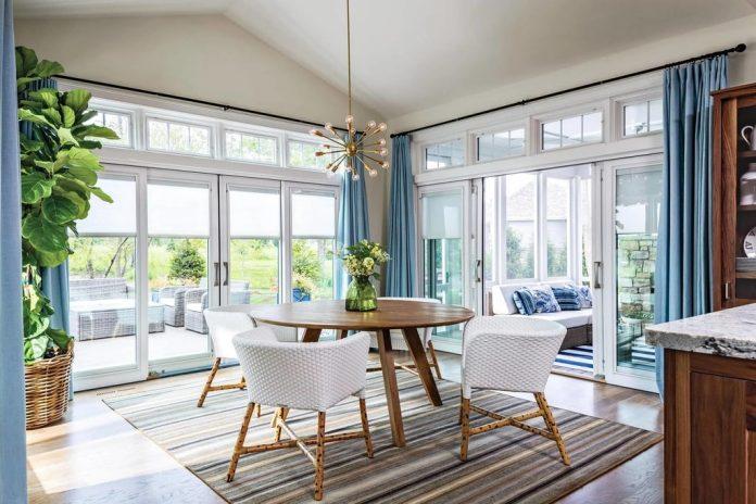 Glass Door Window Treatment Ideas