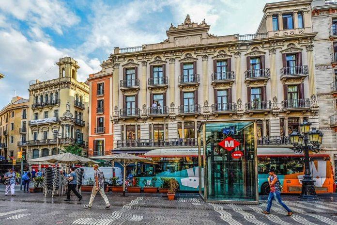 beautiful barcelona spain